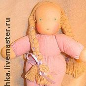 Мягкие игрушки ручной работы. Ярмарка Мастеров - ручная работа Кукла в пришивном костюмчике. Handmade.