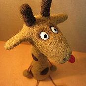 Куклы и игрушки ручной работы. Ярмарка Мастеров - ручная работа Грустный жираф. Handmade.