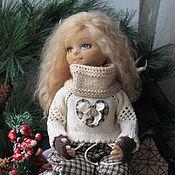 Кукла интерьерная текстильная авторская Таня