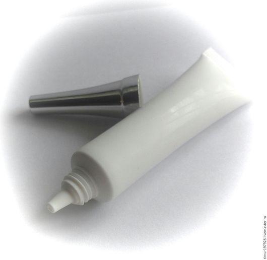 Упаковка ручной работы. Ярмарка Мастеров - ручная работа. Купить Туба для крема ,15 мл. Handmade. Белый, туба для крема