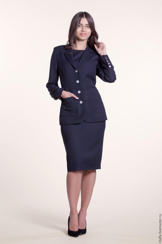 Женский офисный костюм купить