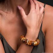 Украшения handmade. Livemaster - original item Healing bracelet made of solid natural amber. Handmade.