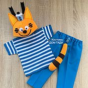 Одежда handmade. Livemaster - original item Cat kitten costume for baby boy baby photo shoot. Handmade.