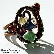 """Украшения ручной работы. Ярмарка Мастеров - ручная работа перстень """"Сокровищница в миниатюре"""". Handmade."""