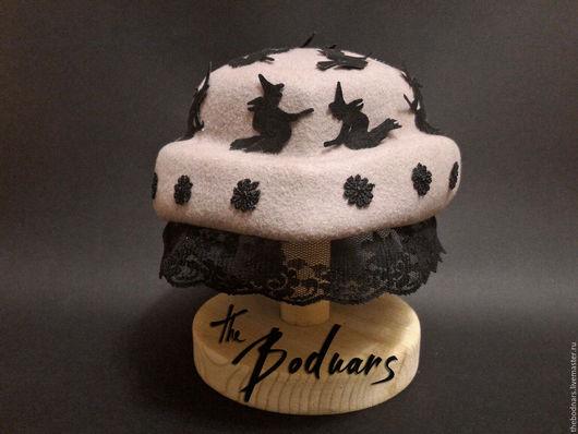 Шляпы ручной работы. Ярмарка Мастеров - ручная работа. Купить Шляпка для вечеринки Witch hat. Handmade. Шляпа, ведьмочка, шляпки