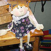 Куклы и игрушки ручной работы. Ярмарка Мастеров - ручная работа эдакая девченка. Handmade.