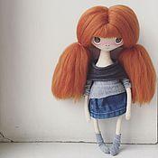 Куклы и игрушки ручной работы. Ярмарка Мастеров - ручная работа Текстильная кукла_6. Handmade.