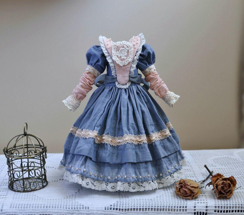 Выкройка + мастер класс платье для куклы Блайз, Одежда для кукол, Таганрог,  Фото №1