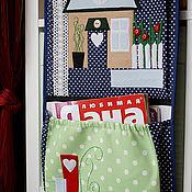 Для дома и интерьера ручной работы. Ярмарка Мастеров - ручная работа Кармашки для мелочей. Handmade.
