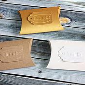 Материалы для творчества handmade. Livemaster - original item Box pie (bonbonniere). Handmade.