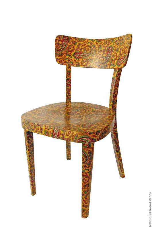 Мебель ручной работы. Ярмарка Мастеров - ручная работа. Купить Бута жёлтый. Handmade. Желтый, Декупаж, клей