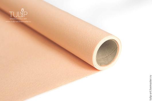 Валяние ручной работы. Ярмарка Мастеров - ручная работа. Купить Фетр под термотрансфер  сублимацию розовый персик жесткий 1,0 мм Корея. Handmade.