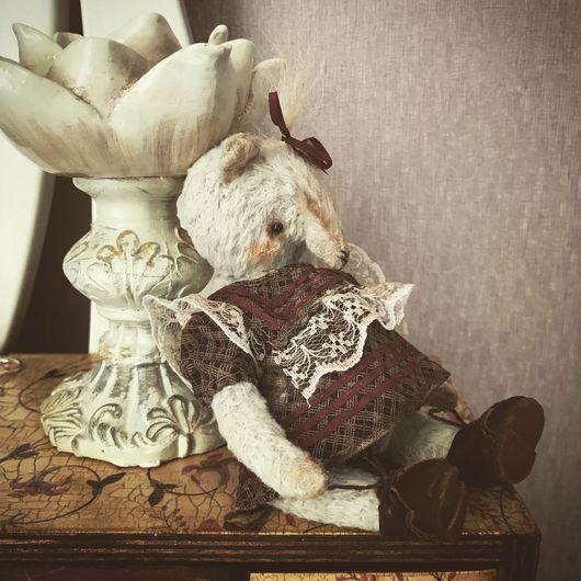 Мишки Тедди ручной работы. Ярмарка Мастеров - ручная работа. Купить Сонечка Тапкина. Handmade. Голубой, мишка-тедди