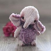 Куклы и игрушки ручной работы. Ярмарка Мастеров - ручная работа Слоня фиалковая ))). Handmade.