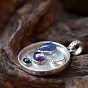 Украшения handmade. Livemaster - original item Pendant with natural stones. Handmade.