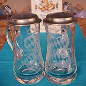 Винтаж handmade. Livemaster - original item Traditional Bavarian beer mugs. Germany.(vintage). Handmade.
