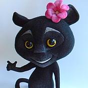 Куклы и игрушки ручной работы. Ярмарка Мастеров - ручная работа Пантера Viber. Handmade.