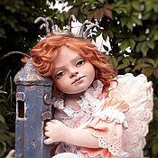 Куклы и игрушки handmade. Livemaster - original item boudoir doll: Textile doll angel. Handmade.