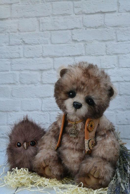 """Мишки Тедди ручной работы. Ярмарка Мастеров - ручная работа. Купить """"Финн и Чифи"""".. Handmade. Мишка тедди, коричневый"""