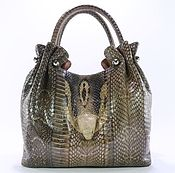 Сумки и аксессуары handmade. Livemaster - original item Bag new women`s genuine Cobra head snake IMK0514L1. Handmade.