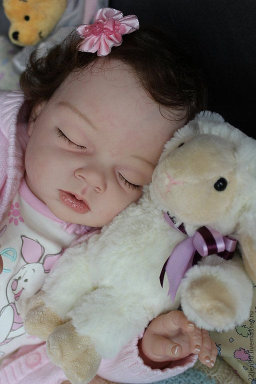 Куклы-младенцы и reborn ручной работы. Ярмарка Мастеров - ручная работа. Купить Малышка Мишель. Handmade. Коллекционная кукла