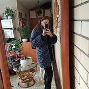 Одежда ручной работы. Ярмарка Мастеров - ручная работа Кардиган из натуральной шерсти мериноса. Handmade.