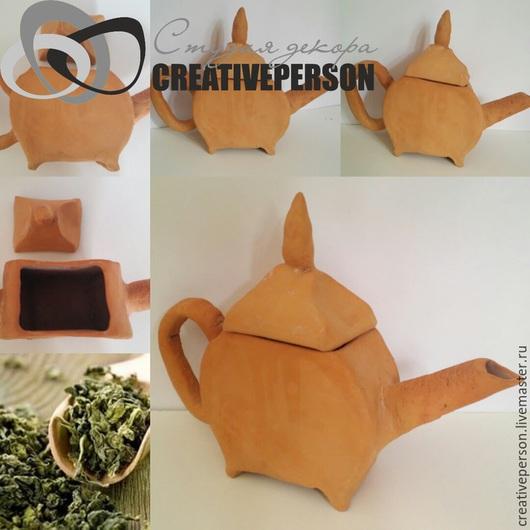 Чайники, кофейники ручной работы. Ярмарка Мастеров - ручная работа. Купить Чайник керамический. Handmade. Чайник керамический, посуда из глины