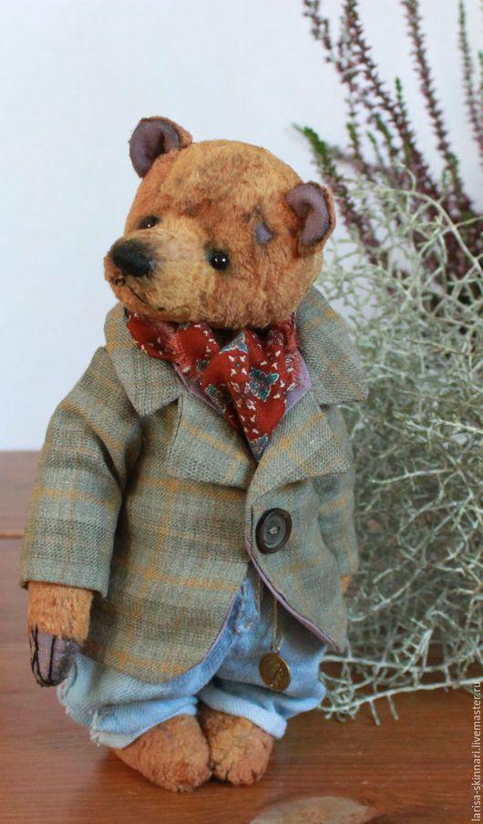 Мишки Тедди ручной работы. Ярмарка Мастеров - ручная работа. Купить Франсуа. Handmade. Коричневый, медвежонок, милый мишка, холофайбер