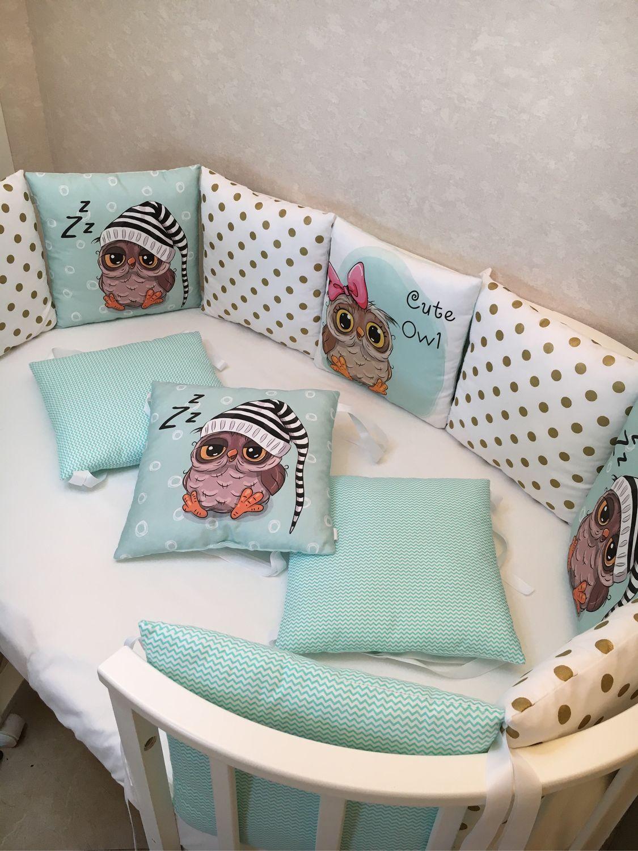Бортики в кроватку-Ликвидация, Одеяло для детей, Москва,  Фото №1