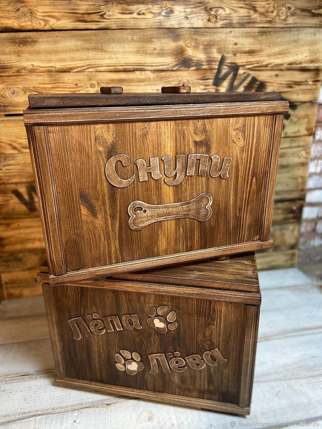 Wooden storage box, Crates, Moscow,  Фото №1
