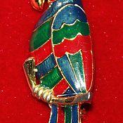 Винтаж handmade. Livemaster - original item Beautiful vintage Parrot brooch, Europe, 1960-70.. Handmade.