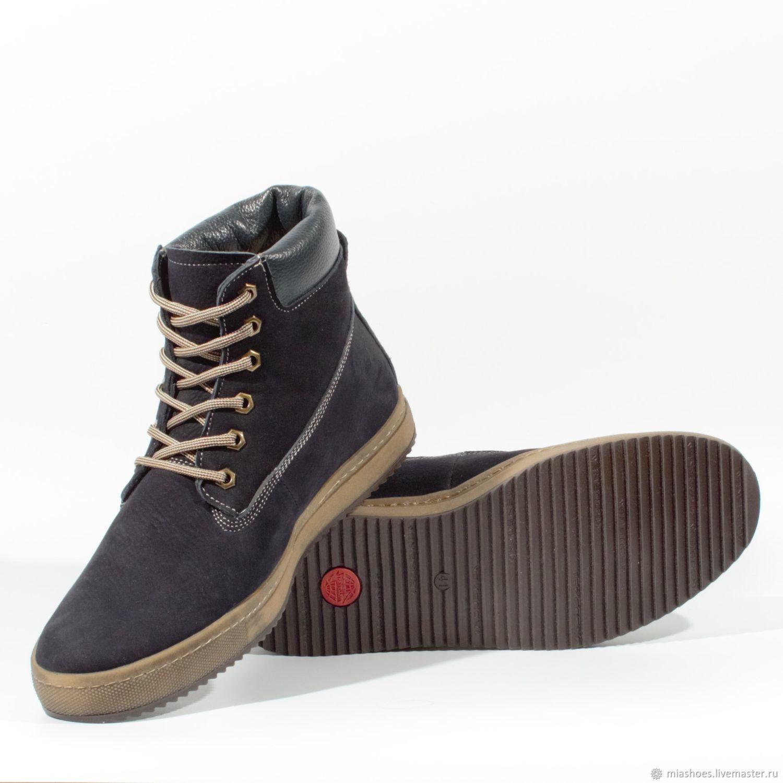 Обувь ручной работы. Ярмарка Мастеров - ручная работа. Купить Мужские  ТимберКеды зимние ботинки. 1dc94273806