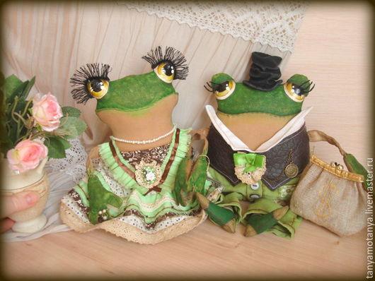 Ароматизированные куклы ручной работы. Ярмарка Мастеров - ручная работа. Купить Лягушка - Жабка. Handmade. Зеленый, жаба из ткани