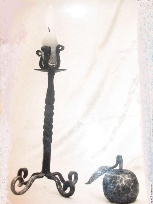 Подсвечники ручной работы. Ярмарка Мастеров - ручная работа. Купить Подсвечник кованый. Handmade. Кованый подсвечник