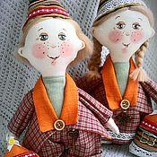 Куклы и игрушки ручной работы. Ярмарка Мастеров - ручная работа Текстильная кукла гномик. Handmade.