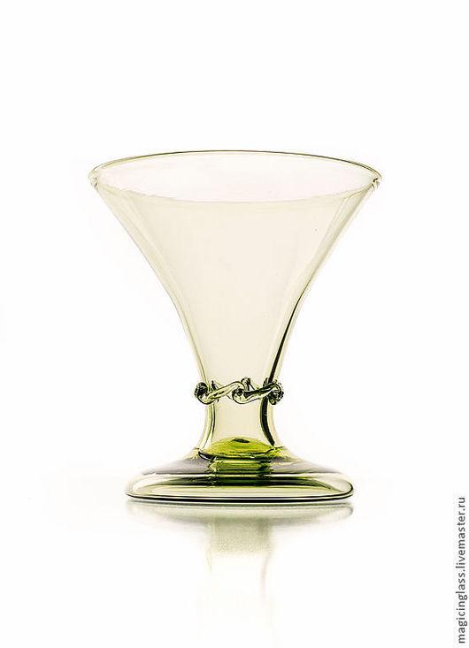 Бокалы, стаканы ручной работы. Ярмарка Мастеров - ручная работа. Купить Коллекционное историческое стекло. Бокал № 85.. Handmade.