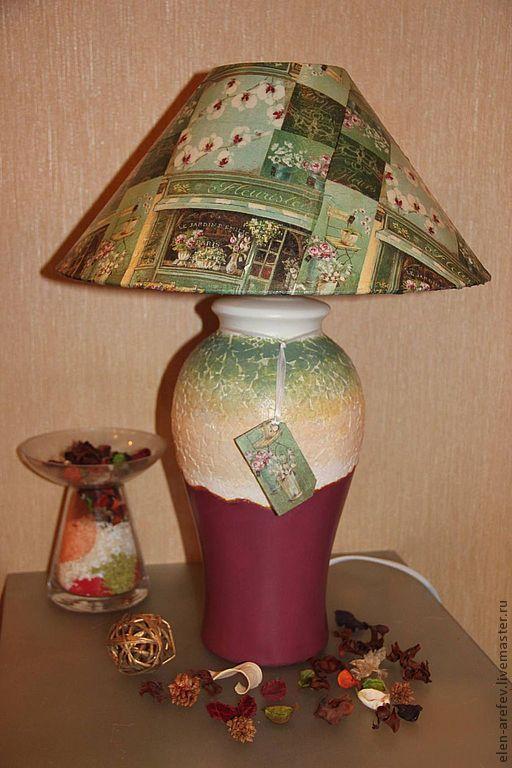Высота этой лампы 47 см. Цена 4 000руб.