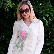 """Одежда ручной работы. Ярмарка Мастеров - ручная работа Лёгкое пальто """"Розы для любимой"""". Handmade."""