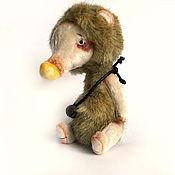 Куклы и игрушки ручной работы. Ярмарка Мастеров - ручная работа Мишка Лео. Handmade.
