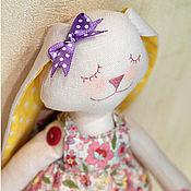 Куклы и игрушки ручной работы. Ярмарка Мастеров - ручная работа Текстильная зайка Лиля. Handmade.