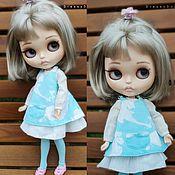 Куклы и игрушки handmade. Livemaster - original item Set for Blythe: Sundress dress stockings.. Handmade.
