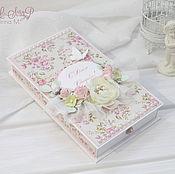 Свадебный салон ручной работы. Ярмарка Мастеров - ручная работа Большая коробочка для денежного подарка на свадьбу. Handmade.