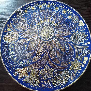 Для дома и интерьера ручной работы. Ярмарка Мастеров - ручная работа Тарелка декоративная. Handmade.