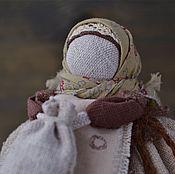 """Куклы и игрушки ручной работы. Ярмарка Мастеров - ручная работа Тряпичная кукла """"Кубышка кофейная"""". По мотивом народной куклы.. Handmade."""