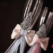"""Свадебный салон ручной работы. Ярмарка Мастеров - ручная работа Бокалы """"Мэри"""". Handmade."""