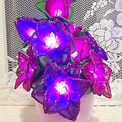 Для дома и интерьера handmade. Livemaster - original item Lamp night light out of nylon. Handmade.