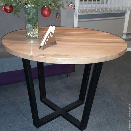 Мебель ручной работы. Ярмарка Мастеров - ручная работа. Купить стол в стиле Лофт для бильярдной комнаты. Handmade. Черный, лофт