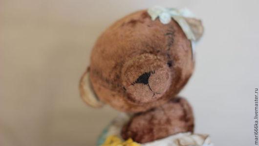 Мишки Тедди ручной работы. Ярмарка Мастеров - ручная работа. Купить Надюша.. Handmade. Бежевый, плюш винтажный
