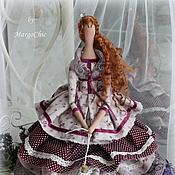 Куклы и игрушки ручной работы. Ярмарка Мастеров - ручная работа Лавандовая принцесса на горошине Николь. Handmade.