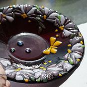 """Посуда ручной работы. Ярмарка Мастеров - ручная работа Тарелка """"Летняя"""".. Handmade."""
